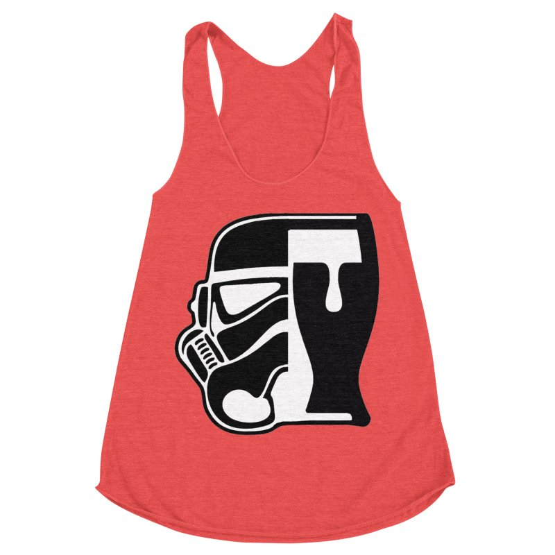 Buckets and Beers Episode III Women's Racerback Triblend Tank by SmoothImperial's Artist Shop
