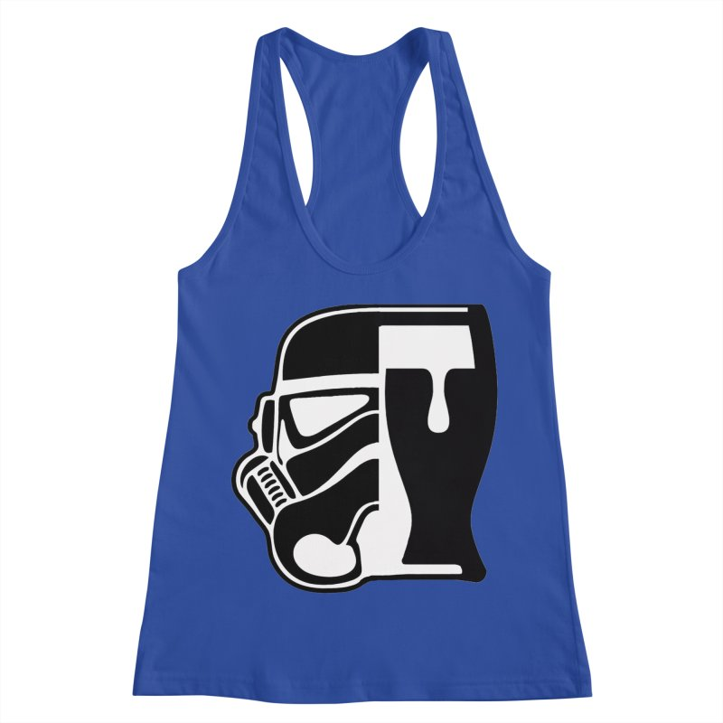 Buckets and Beers Episode III Women's Racerback Tank by SmoothImperial's Artist Shop