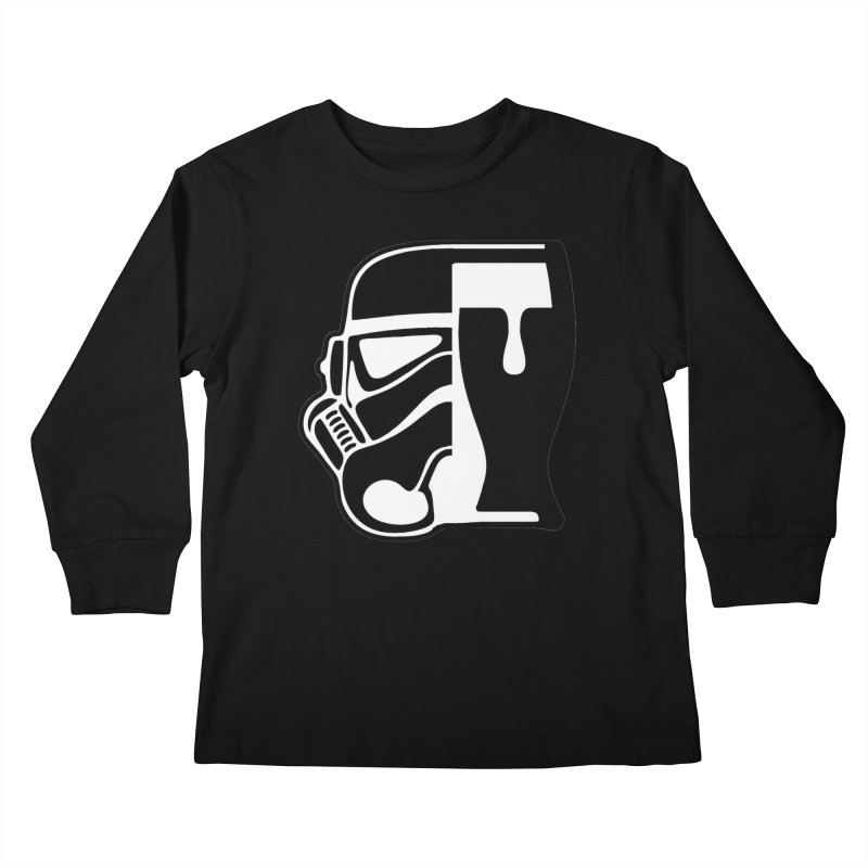 Buckets and Beers Episode III Kids Longsleeve T-Shirt by The Death Star Gift Shop