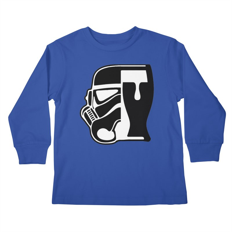Buckets and Beers Episode III Kids Longsleeve T-Shirt by SmoothImperial's Artist Shop