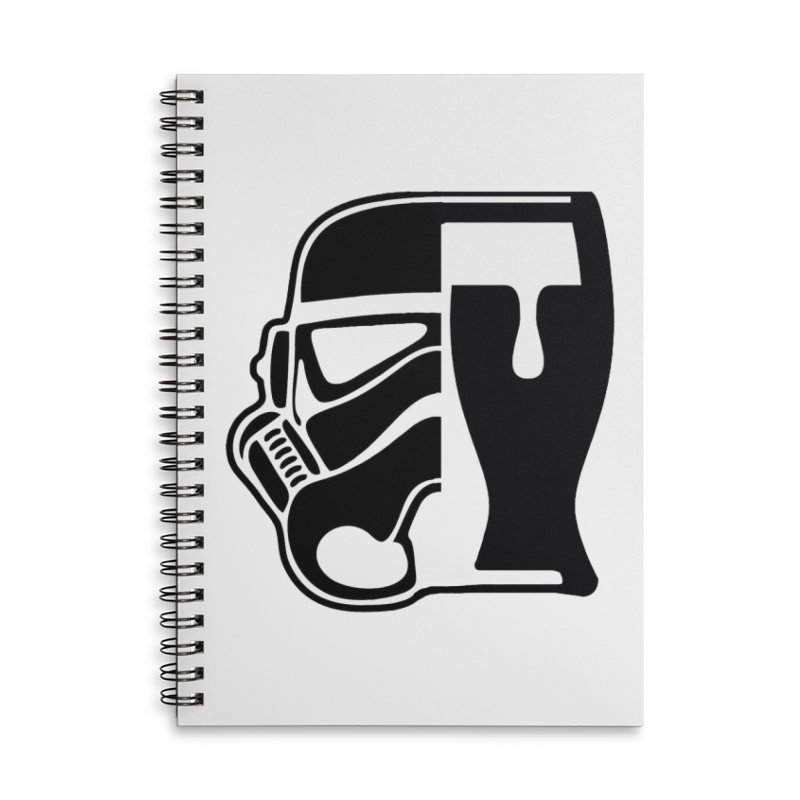 Buckets and Beers Episode III Accessories Lined Spiral Notebook by SmoothImperial's Artist Shop