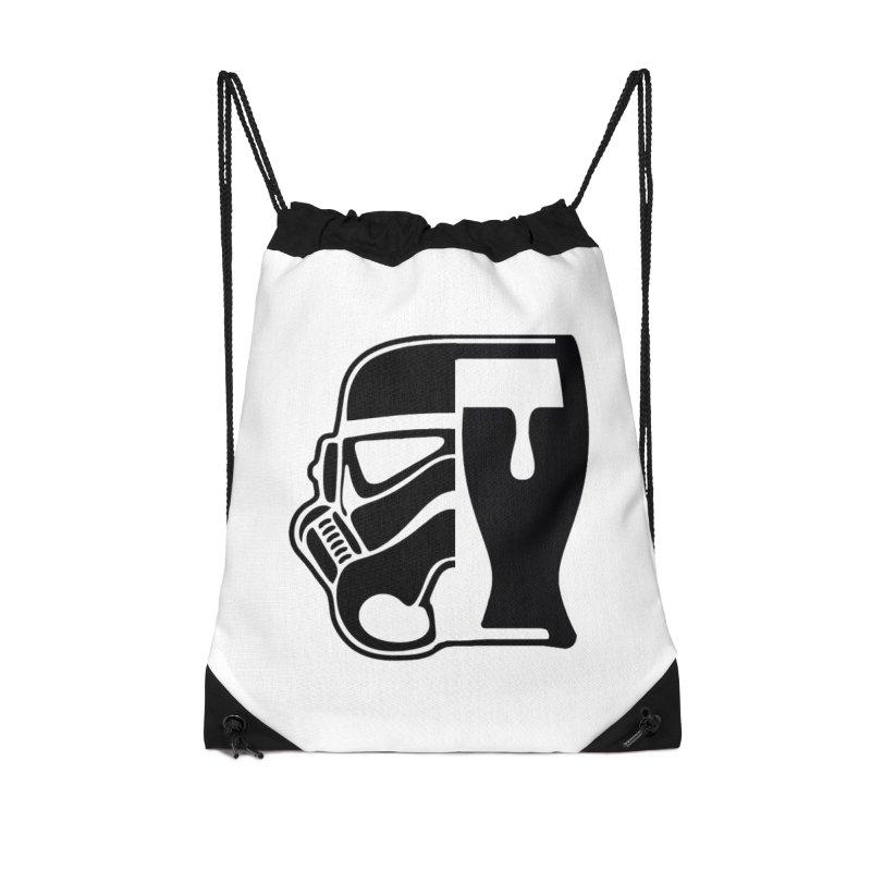 Buckets and Beers Episode III Accessories Drawstring Bag Bag by SmoothImperial's Artist Shop