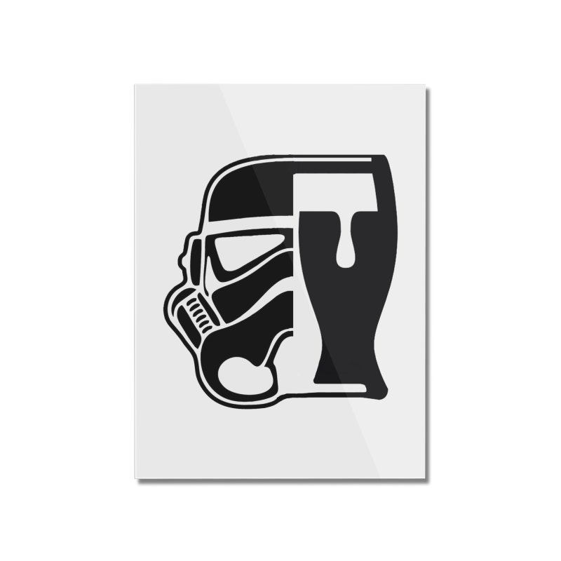 Buckets and Beers Episode III Home Mounted Acrylic Print by The Death Star Gift Shop