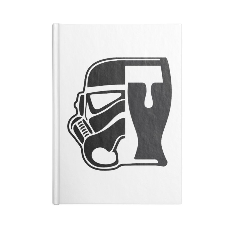 Buckets and Beers Episode III Accessories Blank Journal Notebook by The Death Star Gift Shop