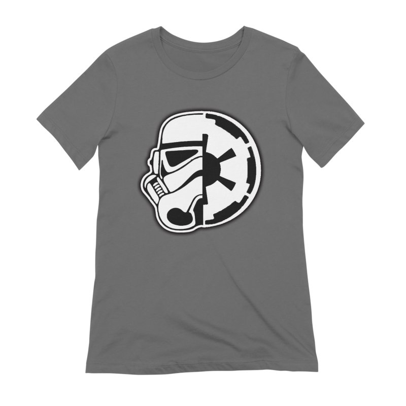 Smooth Imperial Women's Extra Soft T-Shirt by The Death Star Gift Shop