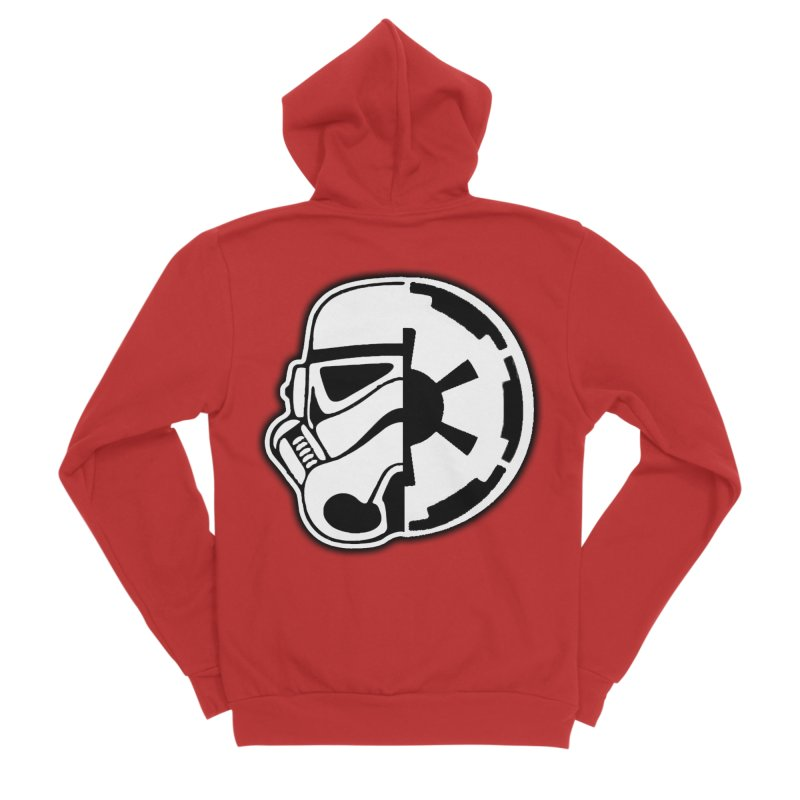 Smooth Imperial Men's Zip-Up Hoody by The Death Star Gift Shop