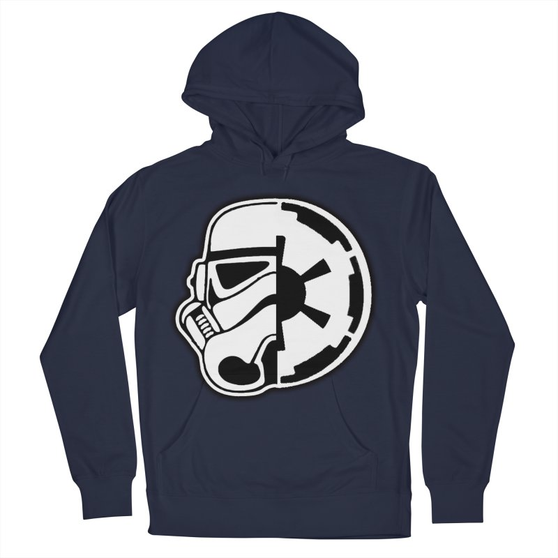Smooth Imperial Women's French Terry Pullover Hoody by The Death Star Gift Shop