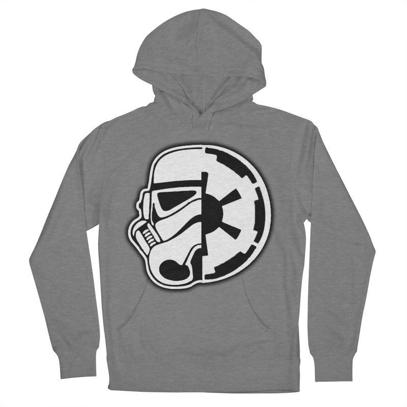 Smooth Imperial Men's French Terry Pullover Hoody by The Death Star Gift Shop