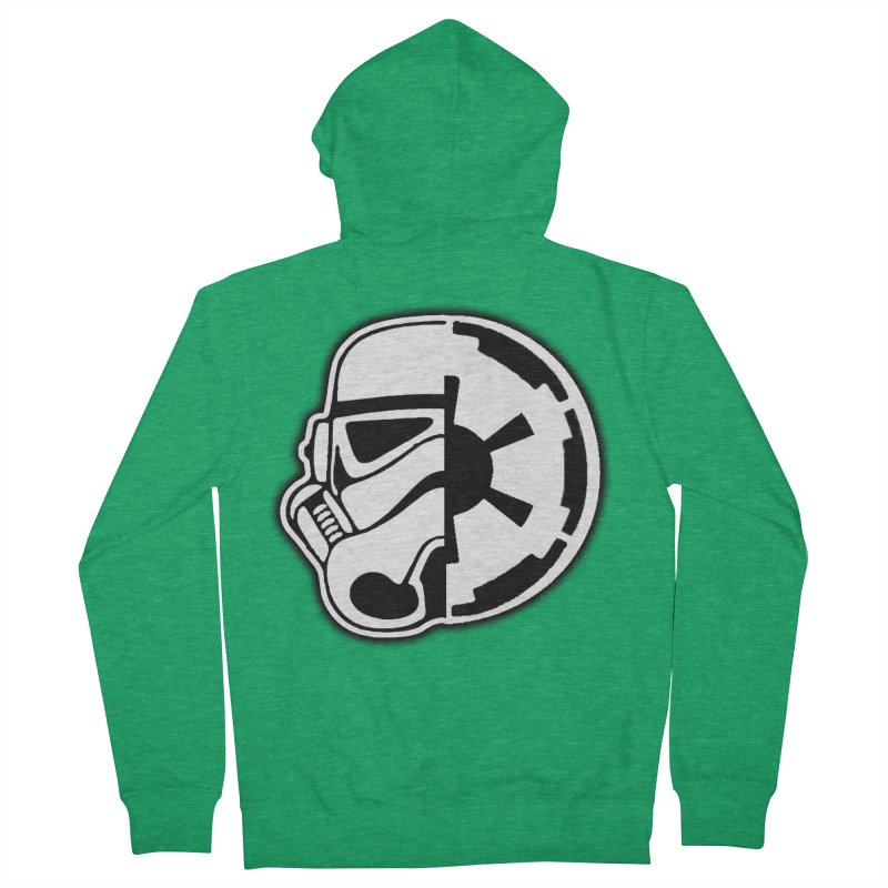 Smooth Imperial Women's Zip-Up Hoody by The Death Star Gift Shop