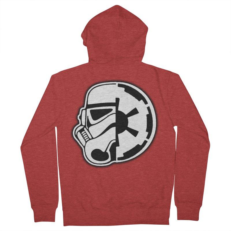 Smooth Imperial Women's French Terry Zip-Up Hoody by The Death Star Gift Shop