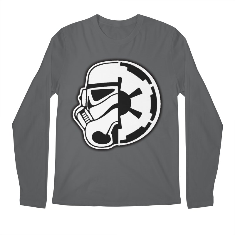 Smooth Imperial Men's Regular Longsleeve T-Shirt by The Death Star Gift Shop