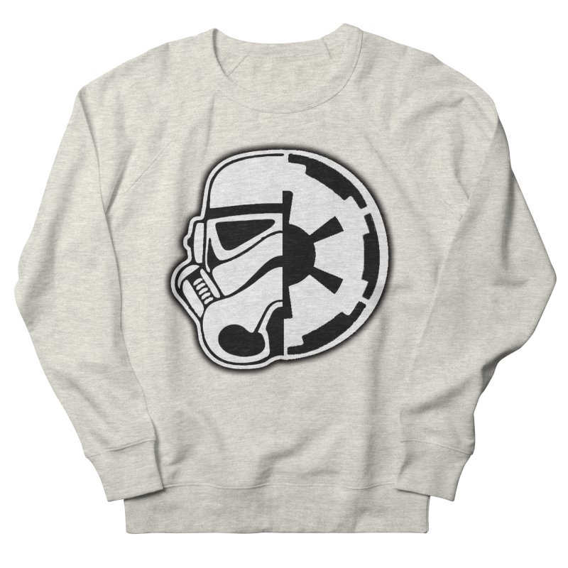 Smooth Imperial Women's French Terry Sweatshirt by The Death Star Gift Shop