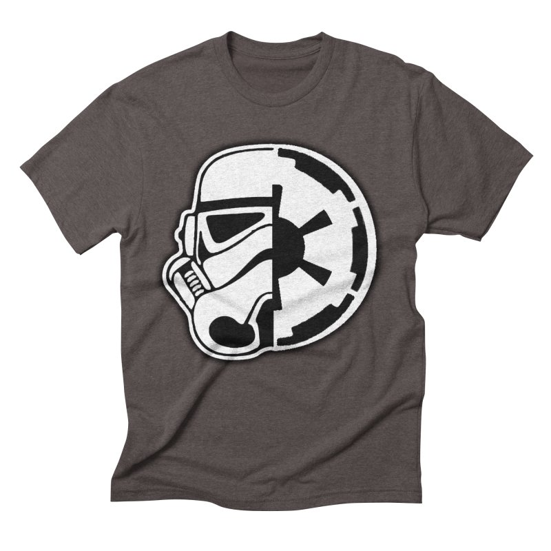 Smooth Imperial Men's Triblend T-Shirt by The Death Star Gift Shop