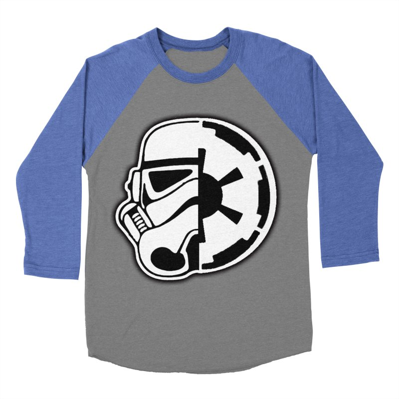 Smooth Imperial Women's Baseball Triblend Longsleeve T-Shirt by The Death Star Gift Shop
