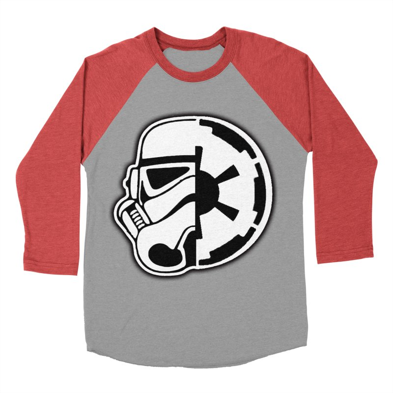 Smooth Imperial Men's Baseball Triblend Longsleeve T-Shirt by The Death Star Gift Shop