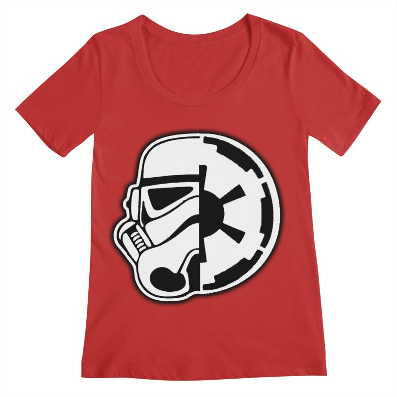 Smooth Imperial Women's Regular Scoop Neck by The Death Star Gift Shop
