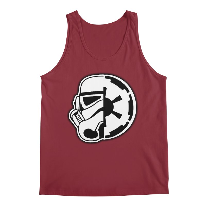 Smooth Imperial Men's Tank by The Death Star Gift Shop