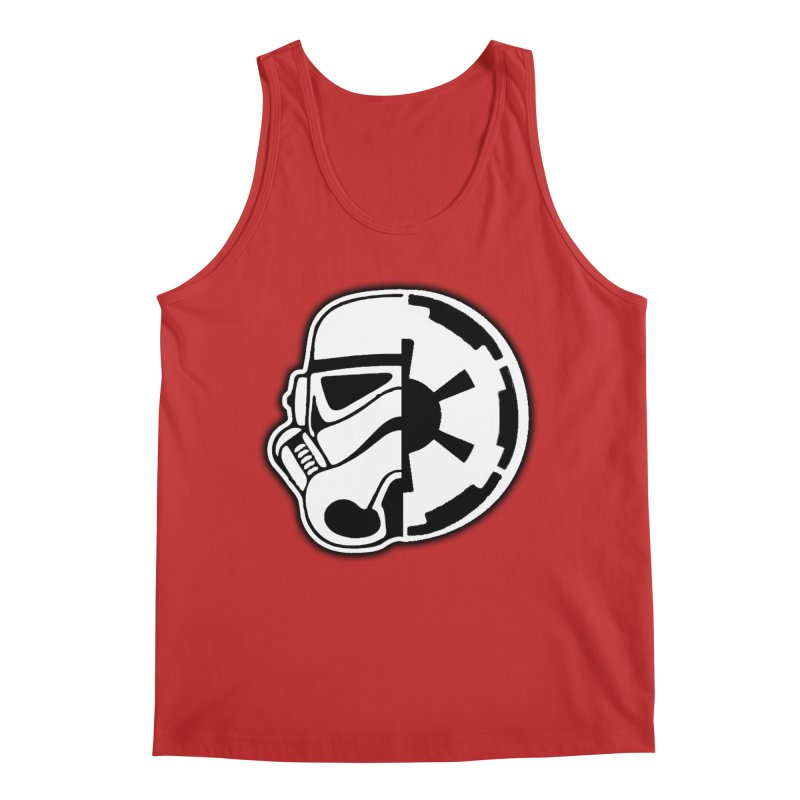 Smooth Imperial Men's Regular Tank by The Death Star Gift Shop
