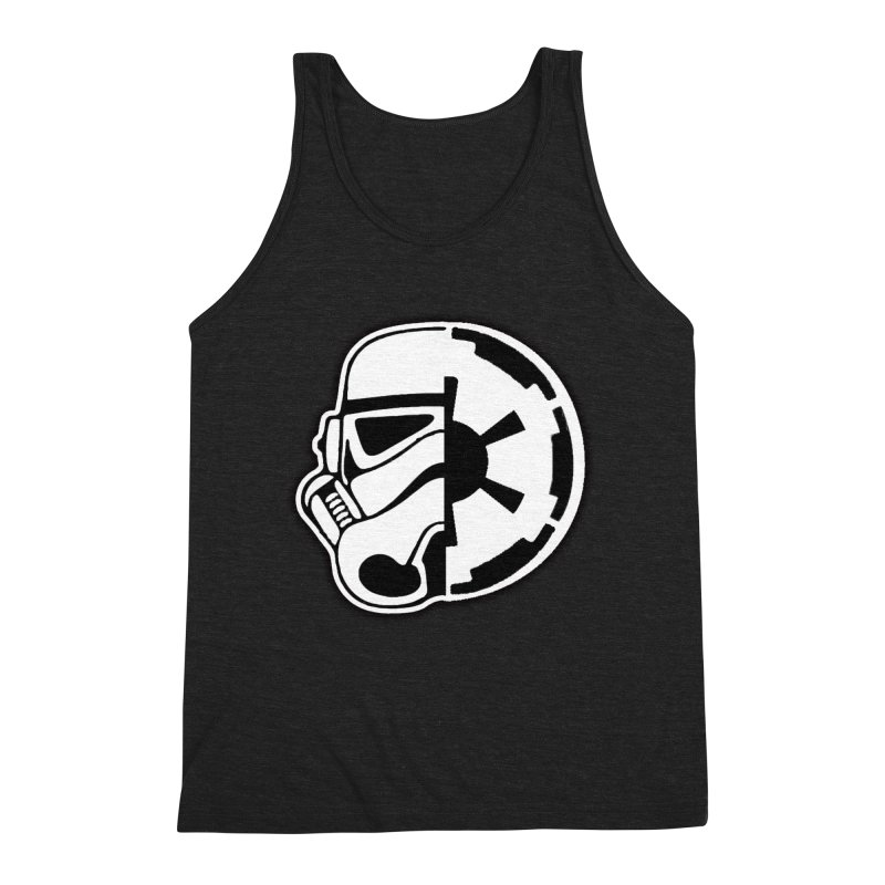 Smooth Imperial Men's Triblend Tank by The Death Star Gift Shop