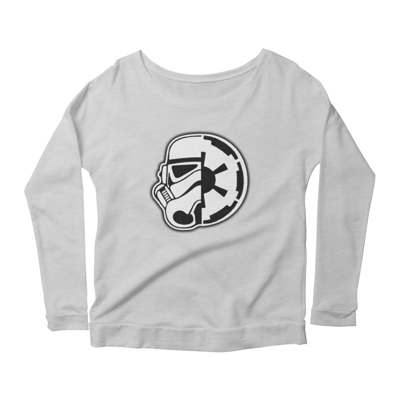 Smooth Imperial Women's Scoop Neck Longsleeve T-Shirt by SmoothImperial's Artist Shop