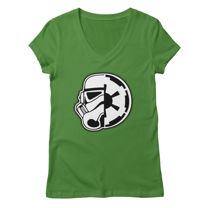 Smooth Imperial Women's Regular V-Neck by SmoothImperial's Artist Shop