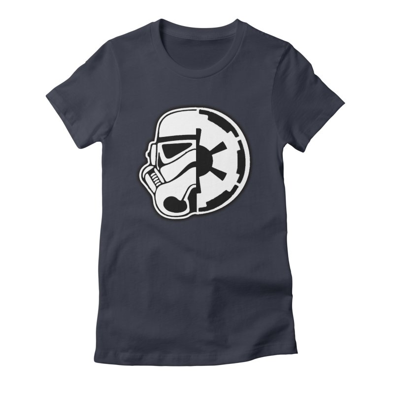 Smooth Imperial Women's Fitted T-Shirt by SmoothImperial's Artist Shop