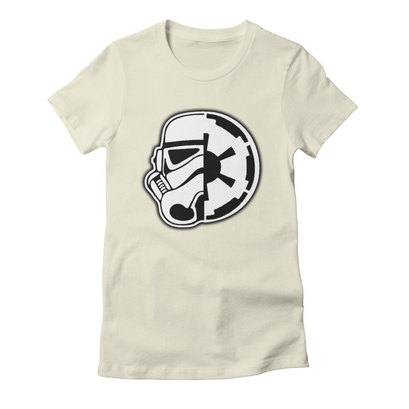 Smooth Imperial Women's Fitted T-Shirt by The Death Star Gift Shop