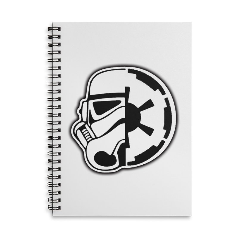 Smooth Imperial Accessories Lined Spiral Notebook by SmoothImperial's Artist Shop