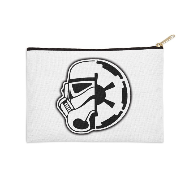 Smooth Imperial Accessories Zip Pouch by The Death Star Gift Shop