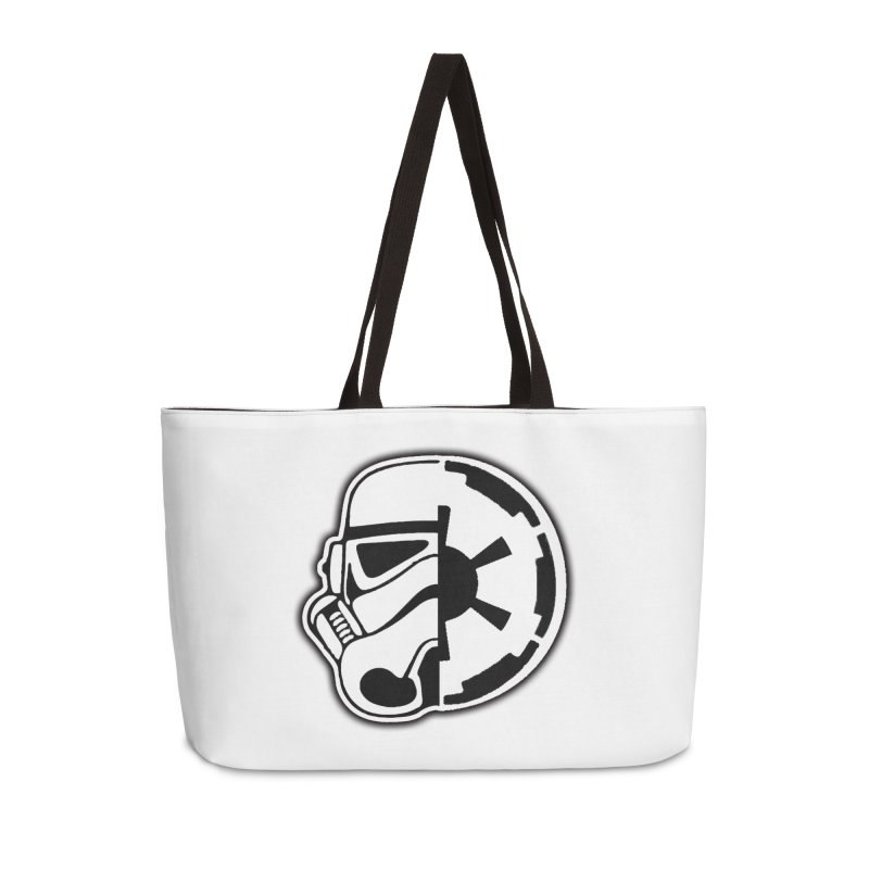 Smooth Imperial Accessories Weekender Bag Bag by The Death Star Gift Shop