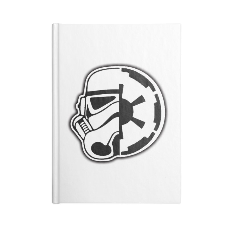 Smooth Imperial Accessories Blank Journal Notebook by The Death Star Gift Shop