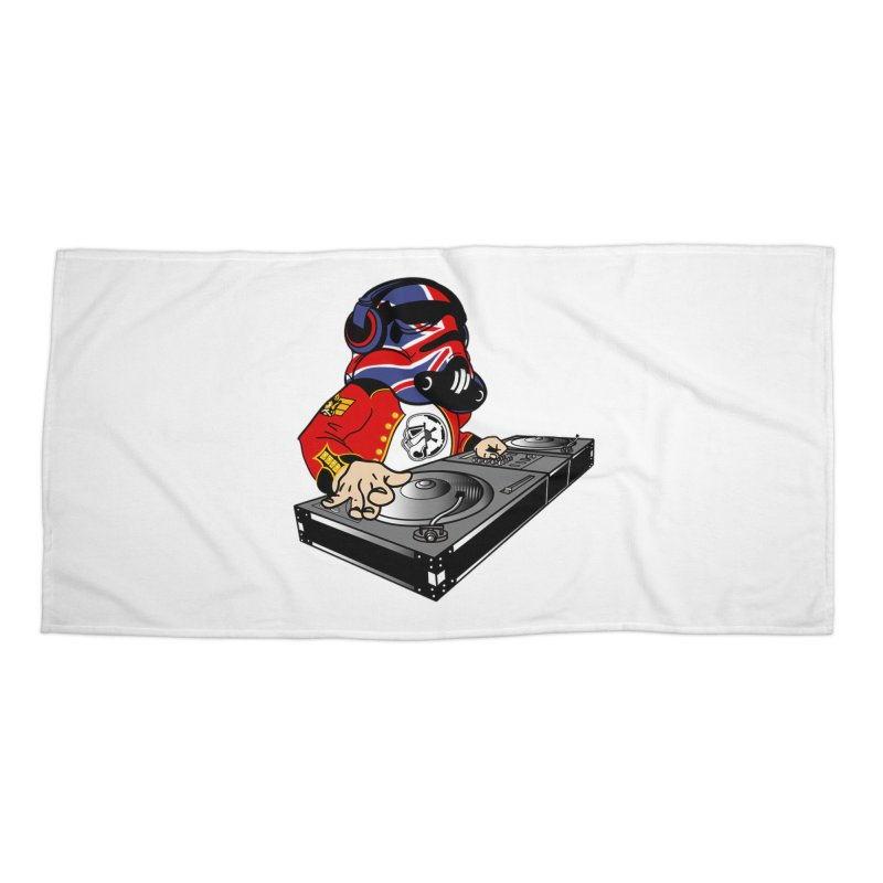 Groove Imperial Accessories Beach Towel by The Death Star Gift Shop