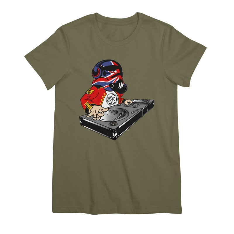 Groove Imperial Women's Premium T-Shirt by SmoothImperial's Artist Shop
