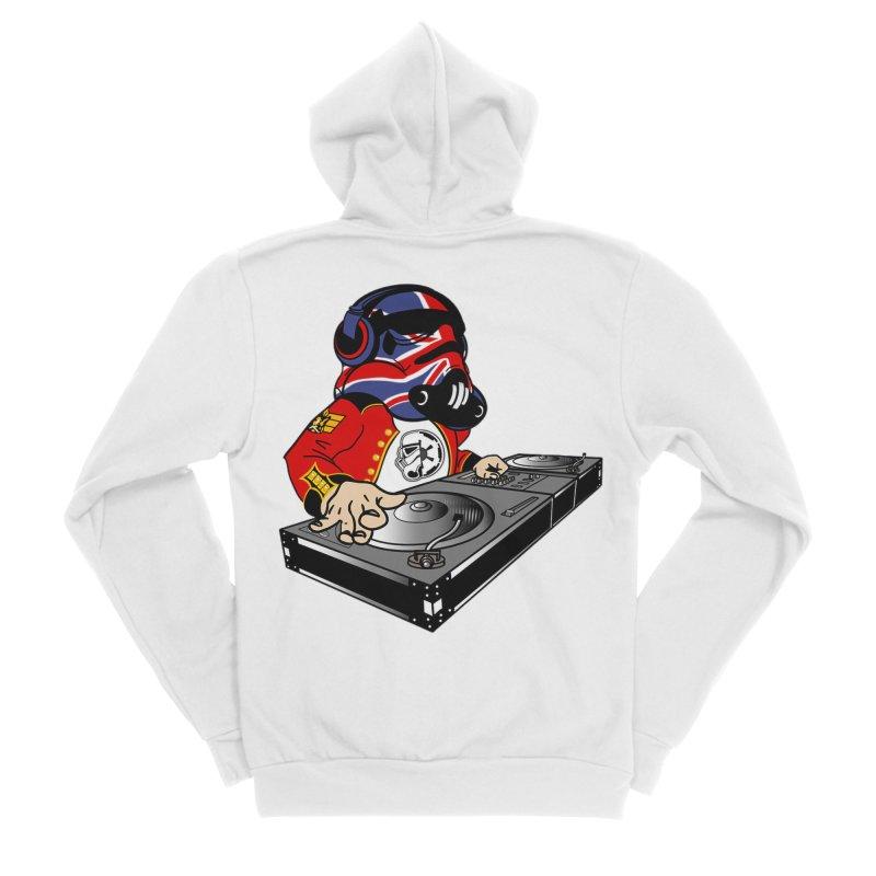 Groove Imperial Men's Sponge Fleece Zip-Up Hoody by SmoothImperial's Artist Shop