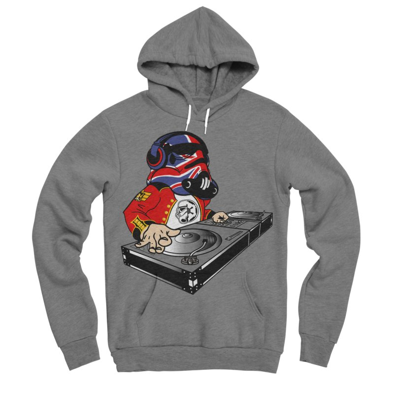 Groove Imperial Men's Sponge Fleece Pullover Hoody by The Death Star Gift Shop
