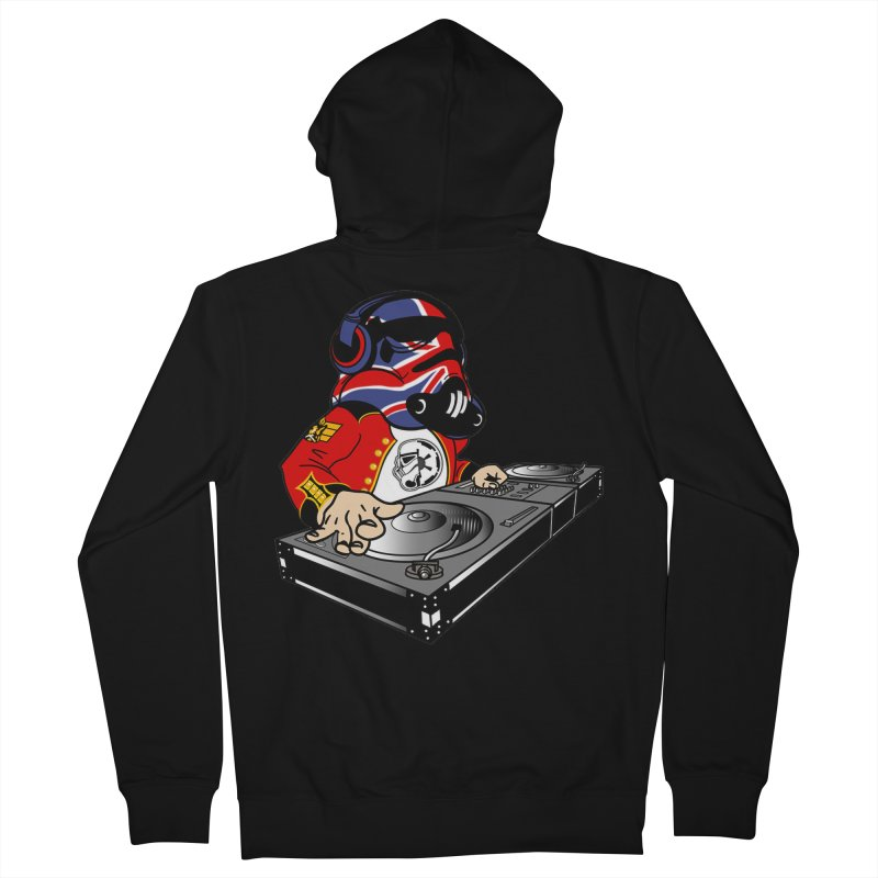 Groove Imperial Women's French Terry Zip-Up Hoody by The Death Star Gift Shop
