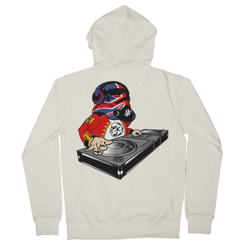 Groove Imperial Men's French Terry Zip-Up Hoody by The Death Star Gift Shop