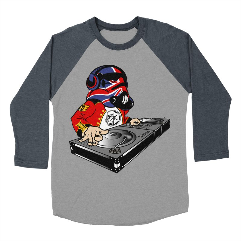 Groove Imperial Women's Baseball Triblend Longsleeve T-Shirt by The Death Star Gift Shop