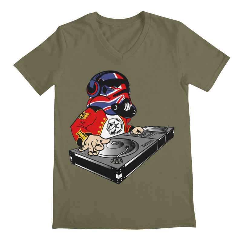 Groove Imperial Men's Regular V-Neck by The Death Star Gift Shop