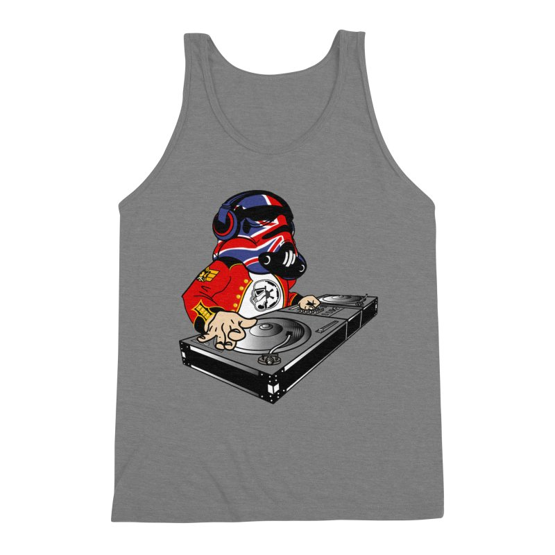 Groove Imperial Men's Triblend Tank by The Death Star Gift Shop