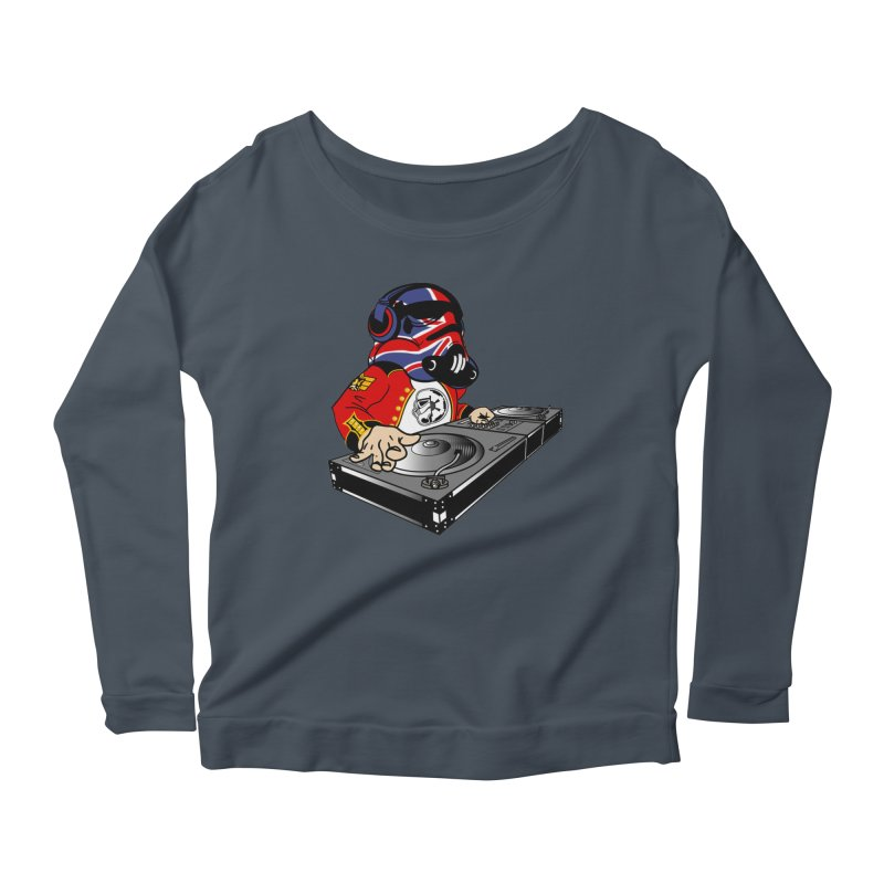 Groove Imperial Women's Scoop Neck Longsleeve T-Shirt by SmoothImperial's Artist Shop