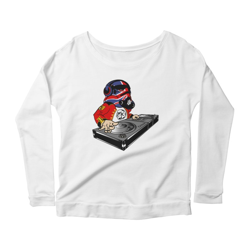 Groove Imperial Women's Scoop Neck Longsleeve T-Shirt by The Death Star Gift Shop
