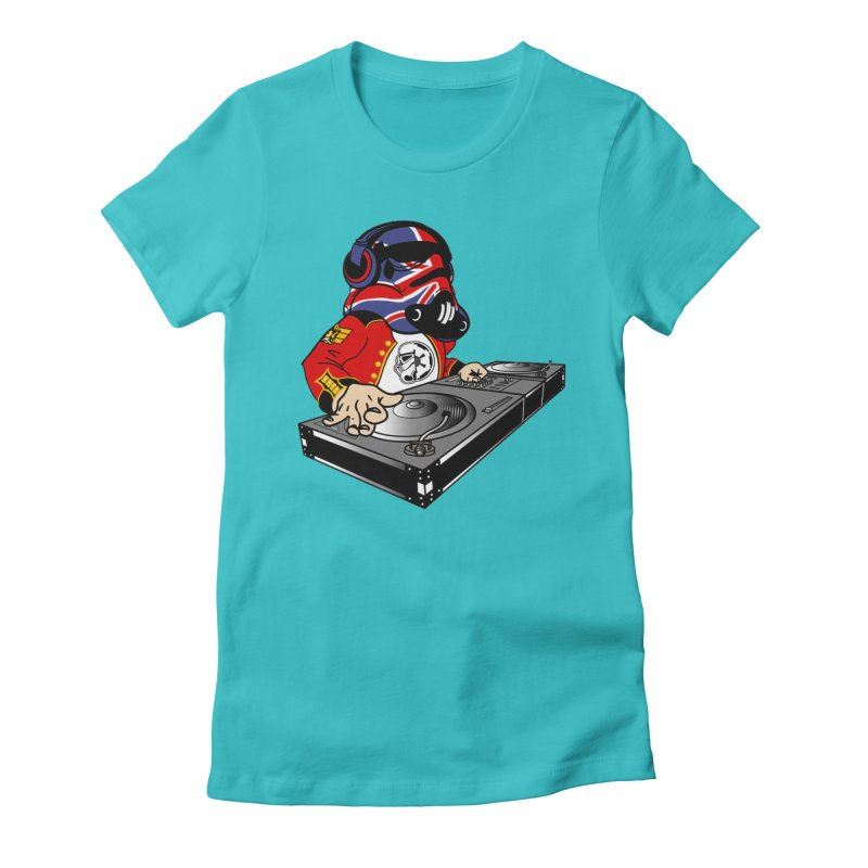 Groove Imperial Women's Fitted T-Shirt by SmoothImperial's Artist Shop