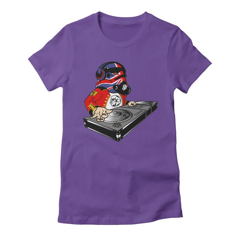Groove Imperial Women's Fitted T-Shirt by The Death Star Gift Shop