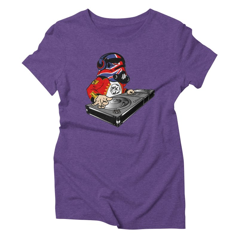 Groove Imperial Women's Triblend T-Shirt by SmoothImperial's Artist Shop
