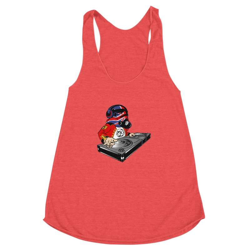 Groove Imperial Women's Racerback Triblend Tank by SmoothImperial's Artist Shop