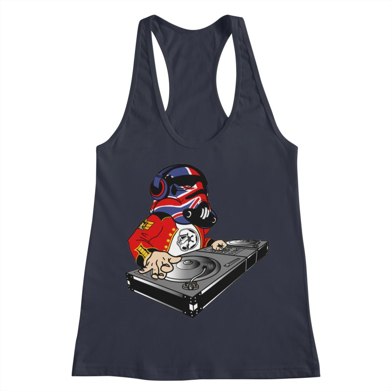 Groove Imperial Women's Racerback Tank by SmoothImperial's Artist Shop
