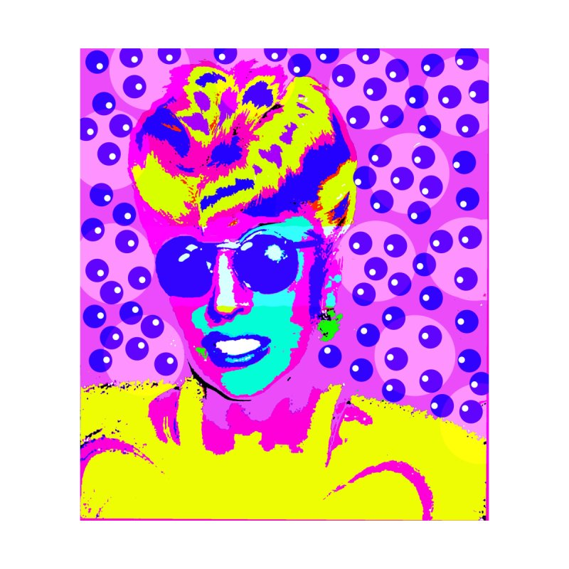 Lady Ga Ga  by Richard Simpkin's Snap Crackle And Pop Art