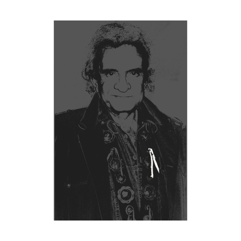 Johnny Cash  by Richard Simpkin's Snap Crackle And Pop Art