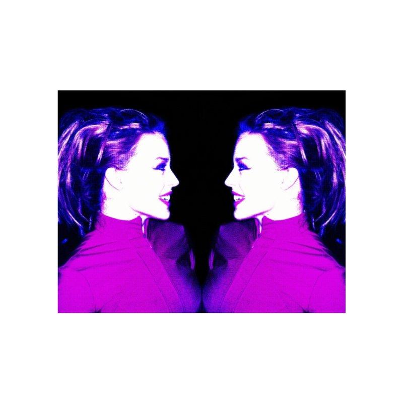 Kylie Minogue x 2 by Richard Simpkin's Snap Crackle And Pop Art